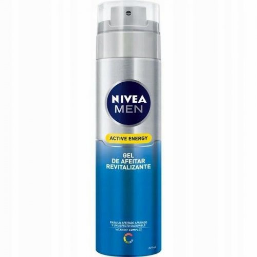 Nivea Men borotválkozási gél 200ml aktív energia