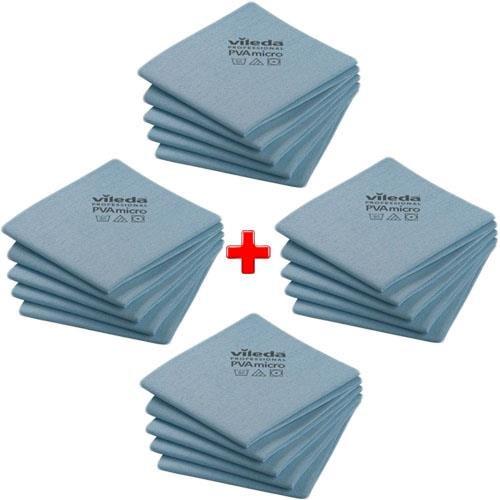Vileda szett Cloth Pva Micro Blue 20db