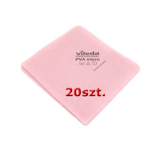 Vileda szett Cloth Pva Micro Red 20db