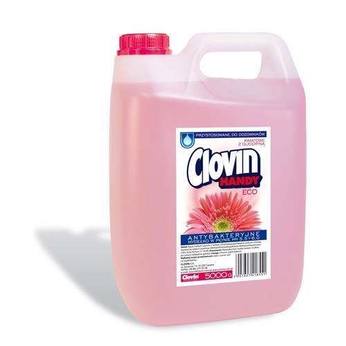 5l virágos Clovin folyékony szappan