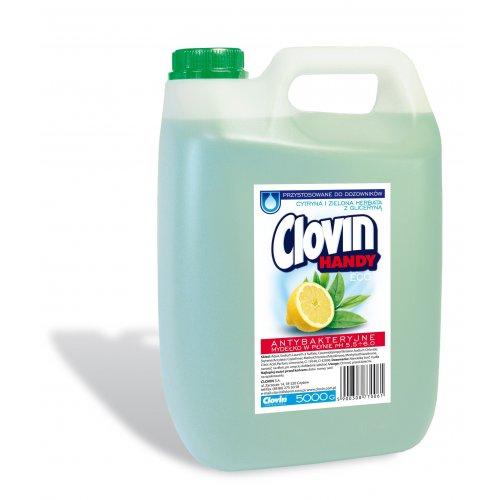Folyékony szappan 5l citrom zöld tea Clovin