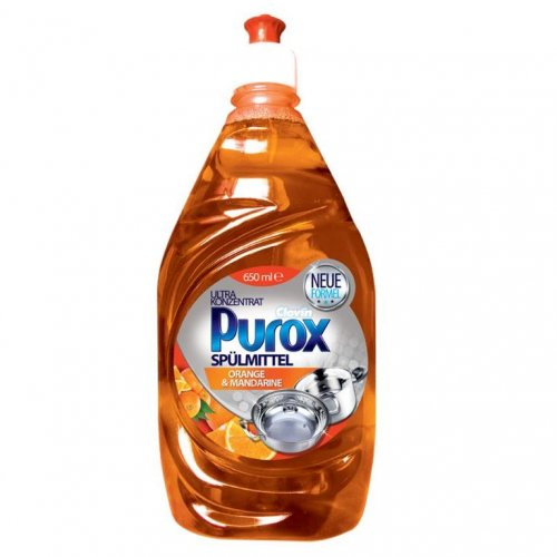 Purox mosogatógép koncentrátum narancs 650ml Clovin