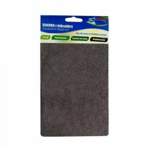 Szürke mikroszálas padlószövet 50x60 Fe-02 F