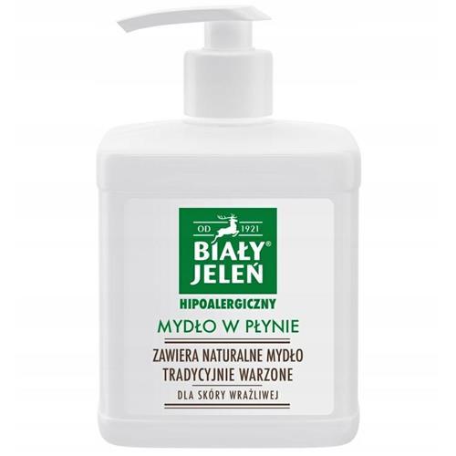 Hipoalergén folyékony szappan 500ml Biały Jeleń