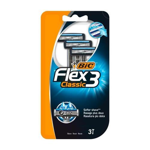Bic Flex 3 Classic Maszynka Do Golenia 3szt..
